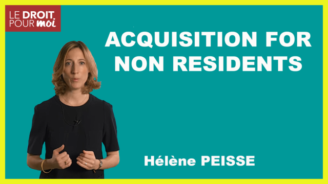 Acquisition for Non Residents