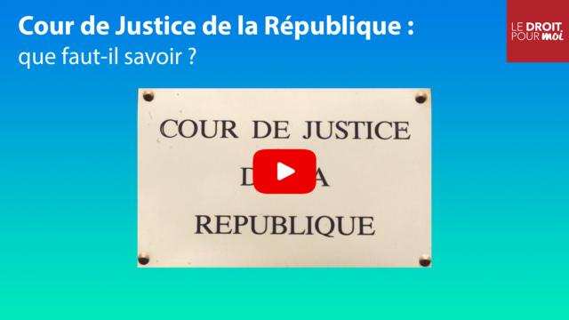 La cour de Justice de la République #01