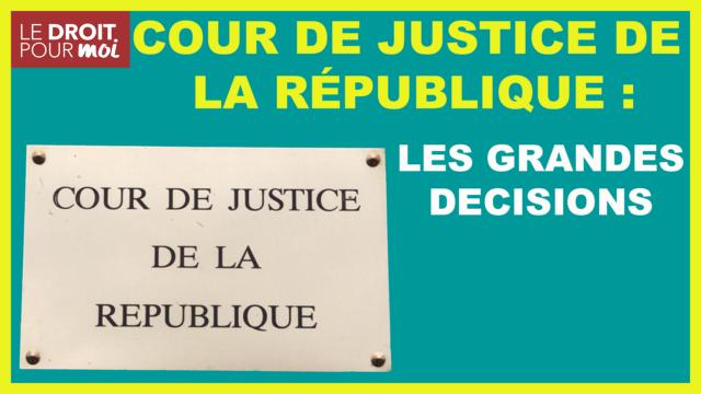 La cour de Justice de la République #02