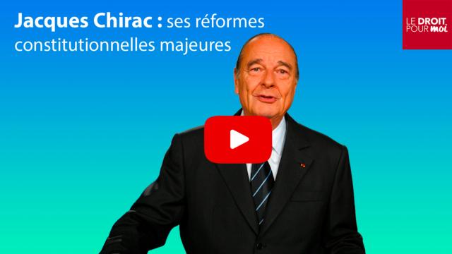 Jacques Chirac en 10 réformes