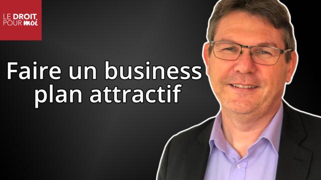 Faire un business plan attractif