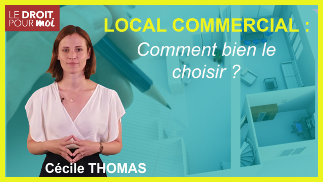 Bien choisir son local commercial