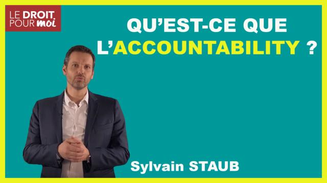 Qu'est-ce que l'accountability ?