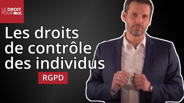 RGPD : les droits des individus