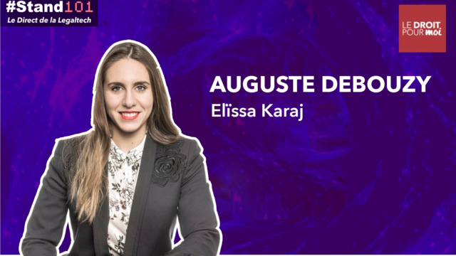 ? #Stand101 avec Eleïssa Karaj du cabinet d'avocat August & Debouzy