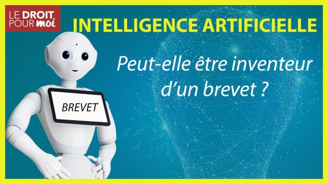 Une intelligence artificielle ne peut être l'inventeur d'un brevet
