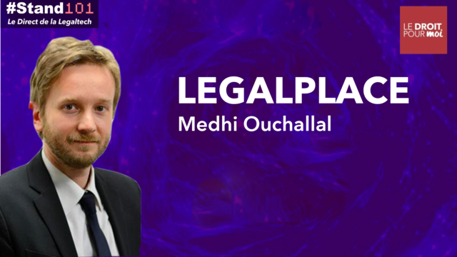 ? #Stand101 avec Mehdi Ouchallal de Legal Place