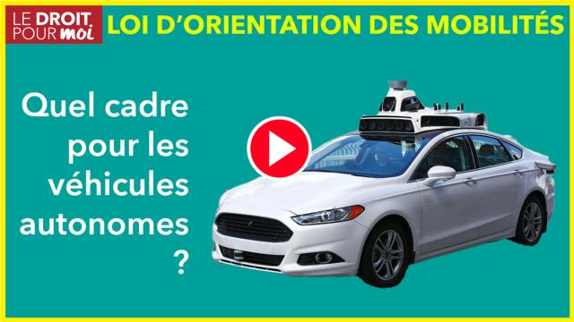 Nouveau cadre pour les véhicules autonomes