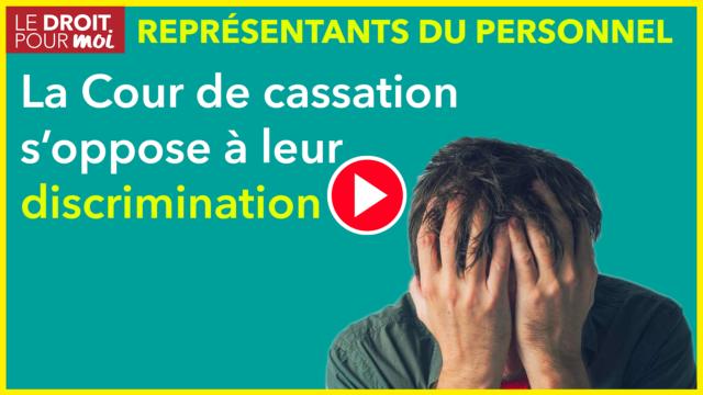 « Stop » à la discrimination contre les représentants du personnel