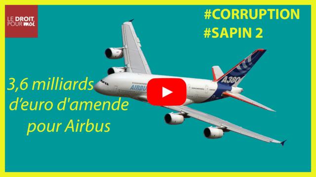 3,6 milliards d'euro d'amende pour Airbus