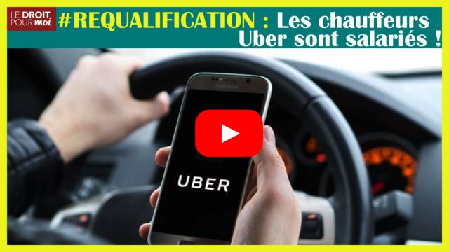 Les chauffeurs Uber sont des salariés