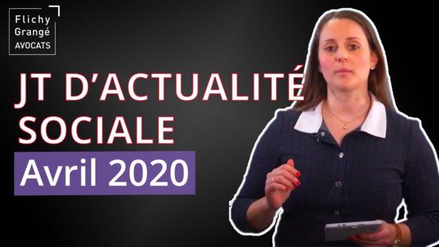 JT du Social - Avril 2020