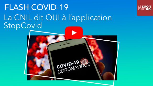 La CNIL dit OUI à l'application StopCovid