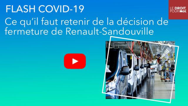 Flash Covid-19 : ce qu'il faut retenir de la décision de fermeture de Renault-Sandouville