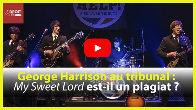 George Harrison a-t-il plagié The Chiffons lorsqu'il a composé « My Sweet Lord » ?