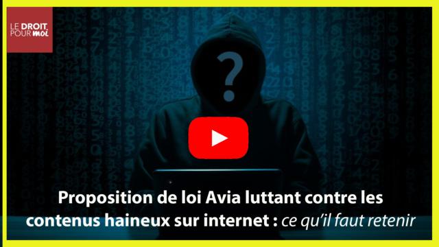 Lutte contre les contenus haineux sur internet : adoption définitive du projet de loi Avia