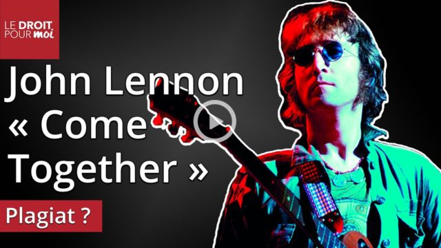 Grands procès du rock : John Lennon poursuivi pour Come Together