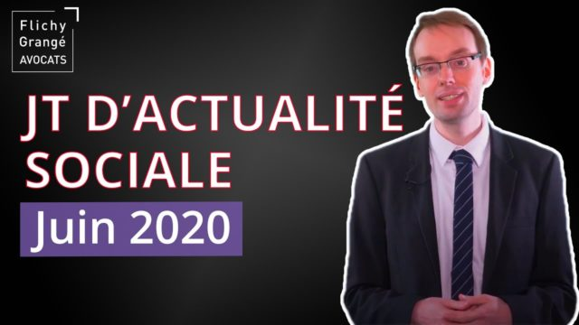JT du social - Juin 2020