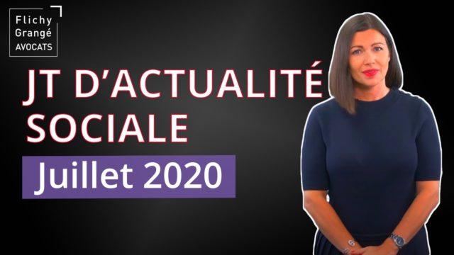 JT du Social - Juillet 2020