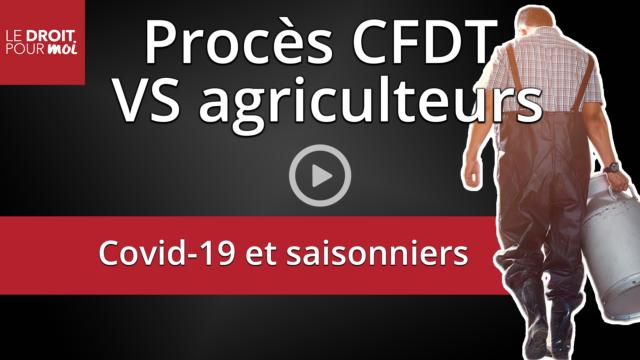 Covid-19 et saisonniers : la CFDT perd le procès face aux agriculteurs