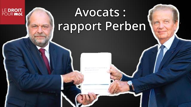 Avenir de la profession d'avocat : que propose le rapport Perben ?