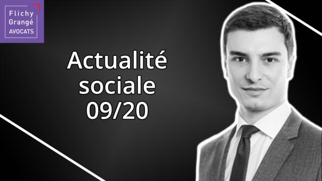 JT du Social - Septembre 2020