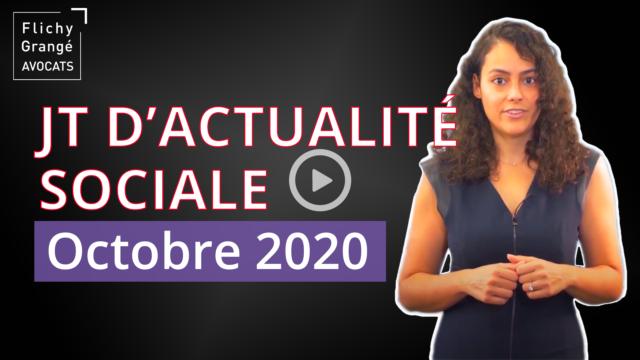 JT du Social - Octobre 2020