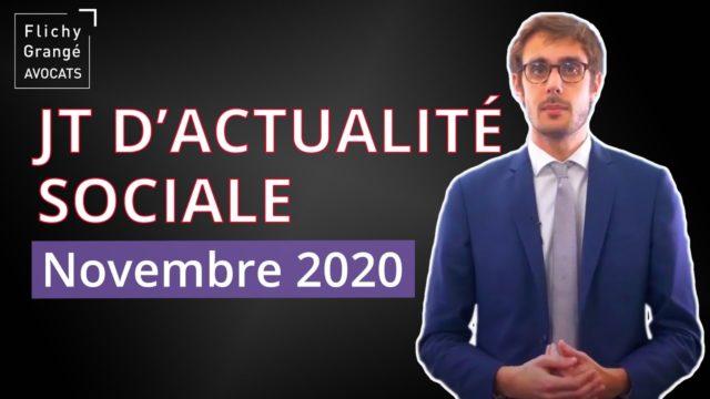 JT du Social - Novembre 2020