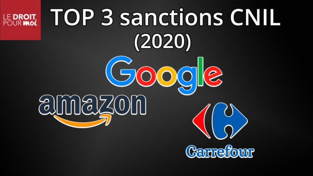 Sanctions de la CNIL : les 3 plus importantes de 2020