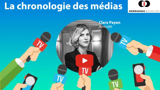 La chronologie des médias
