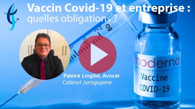 Vaccin Covid-19 et entreprise : quelles obligations ?