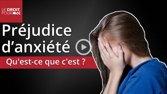 Préjudice d'anxiété : un concept qui s'installe dans le paysage juridique français