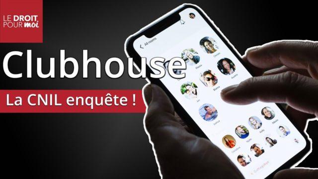 Clubhouse : la CNIL enquête