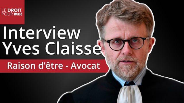 Interview Yves Claisse, 1er avocat à avoir doté son cabinet d'une raison d'être