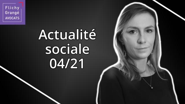 JT du Social - Avril 2021
