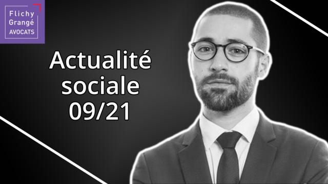 JT du Social – Septembre 2021